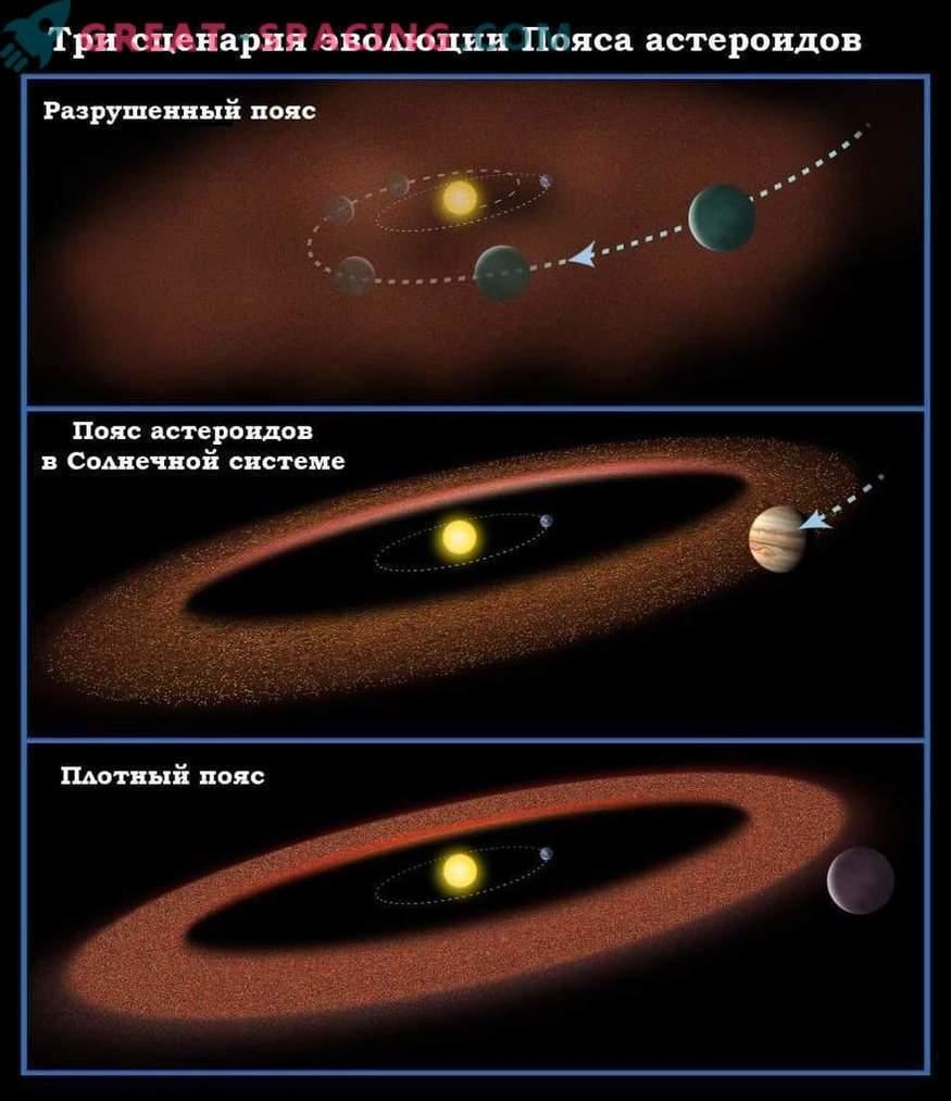 De dónde es Júpiter. Punta encontrada en los asteroides troyanos
