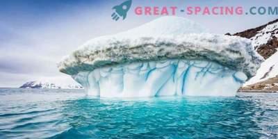 Uued kõrge eraldusvõimega kaardid Antarktika uimastamise üksikasjad
