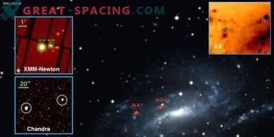 Zwei superluminale Röntgenquellen in der Galaxie NGC 925