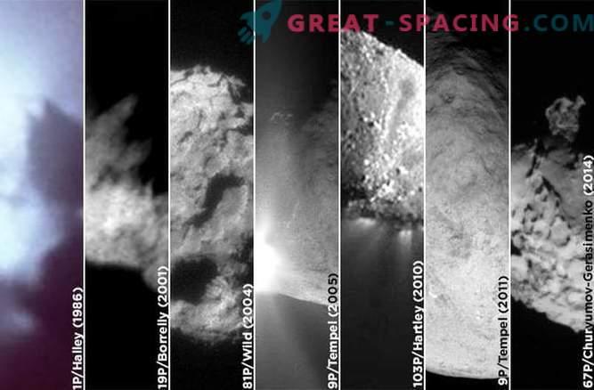 7 contatti con le comete