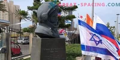Iisraelis püstitatud mälestusmärk Juri Gagarini