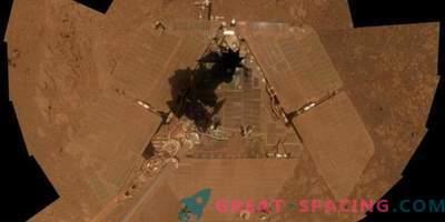 Marsov prah naredi rover tiho