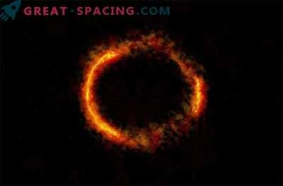 ALMA fängt den atemberaubenden Blick auf Einsteins Ring ein.