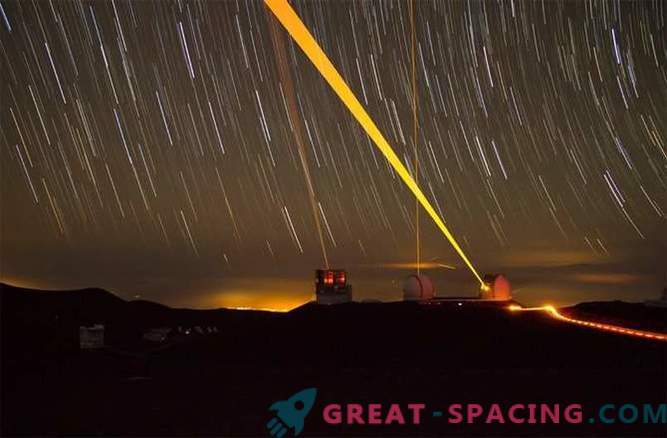 The most vivid photos taken by the Keck Observatory: Start