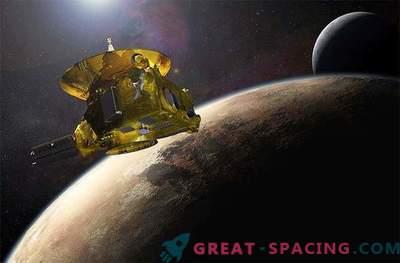 NASA kosmoselaev, mis läheneb Pluutole
